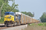 CSXT 487 On CSX Q 268 Northbound
